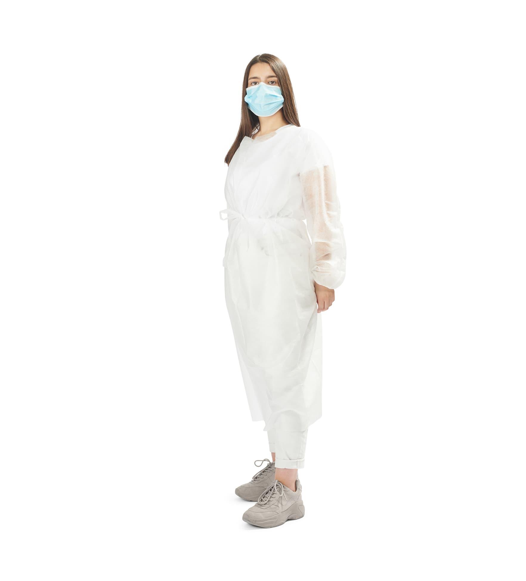 batas hidrófugas 25g 1 - 25g water repellent gowns - clothe protect