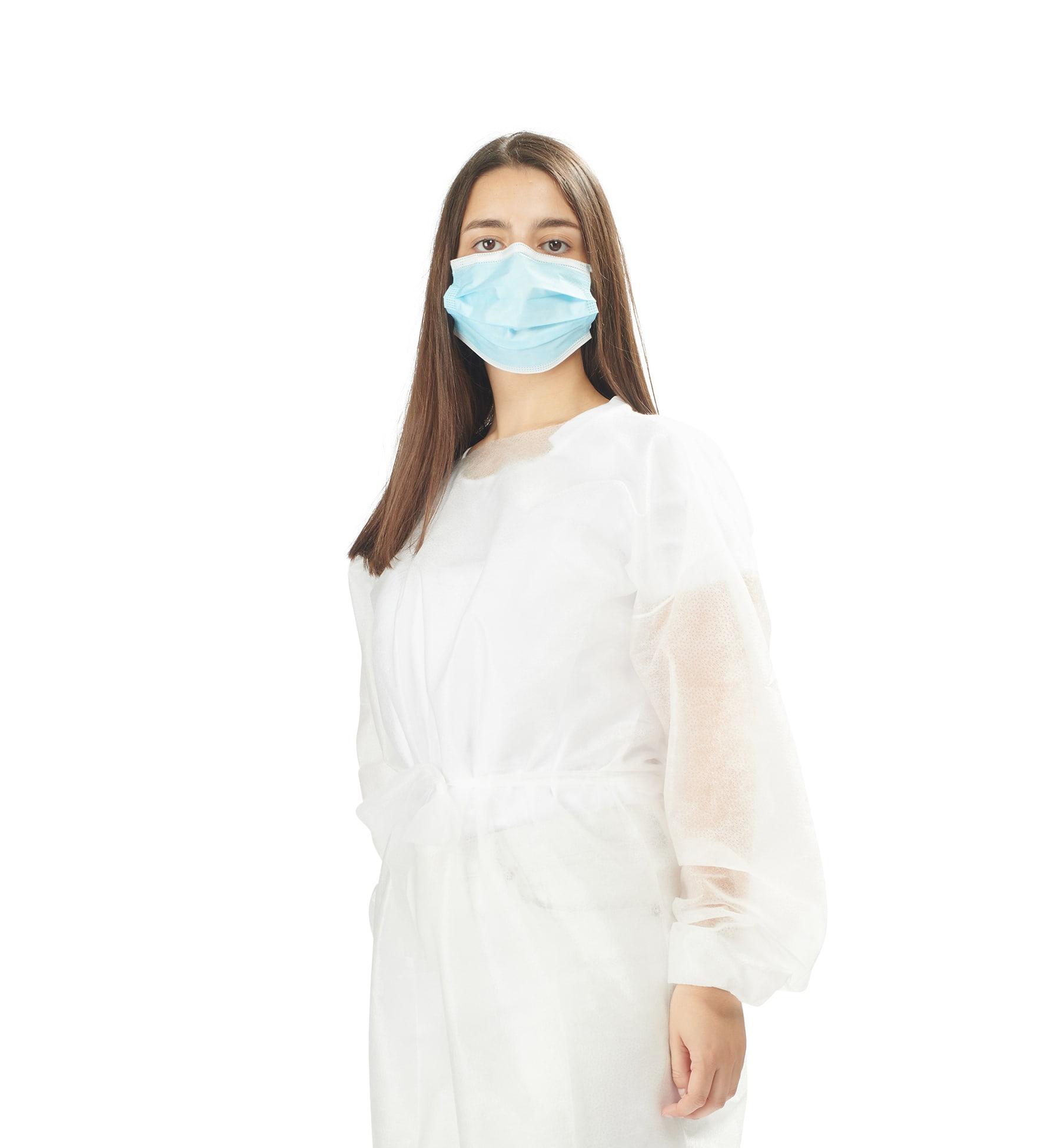 batas hidrófugas 25g 4 - 25g water repellent gowns - clothe protect