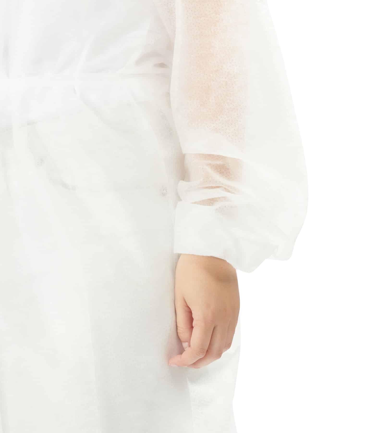 batas hidrófugas 25g 8 - 25g water repellent gowns - clothe protect