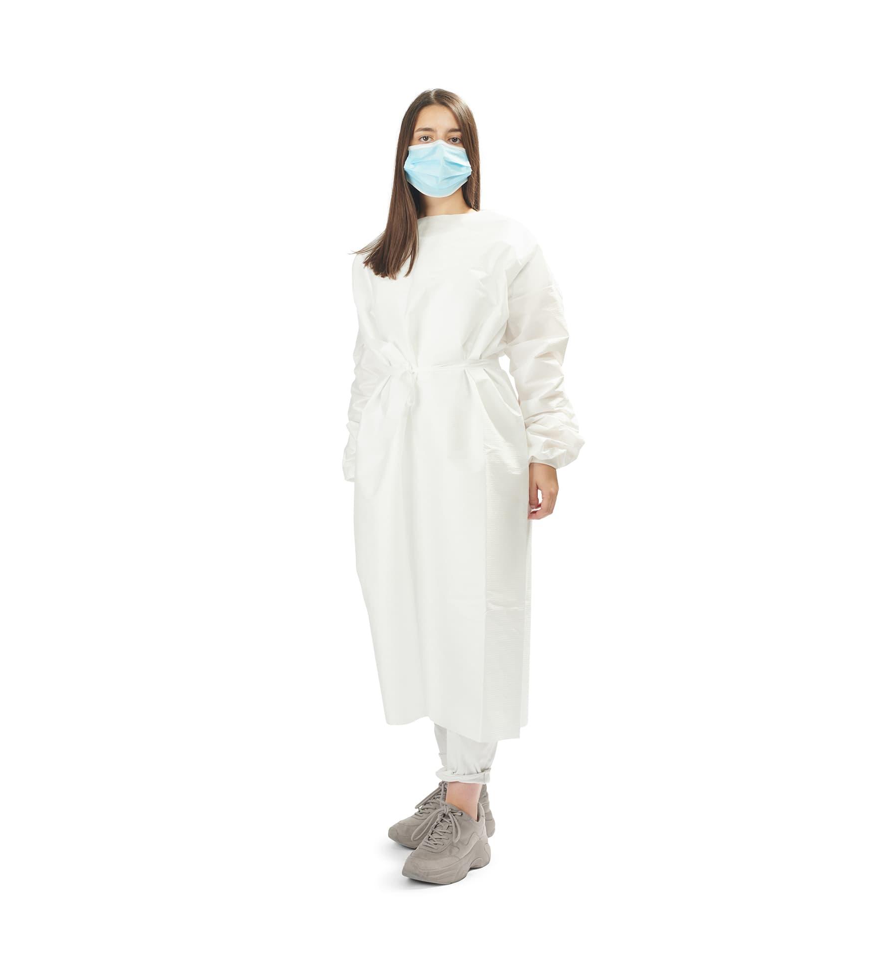 batas impermeáveis 2 - waterproof gowns - clothe protect