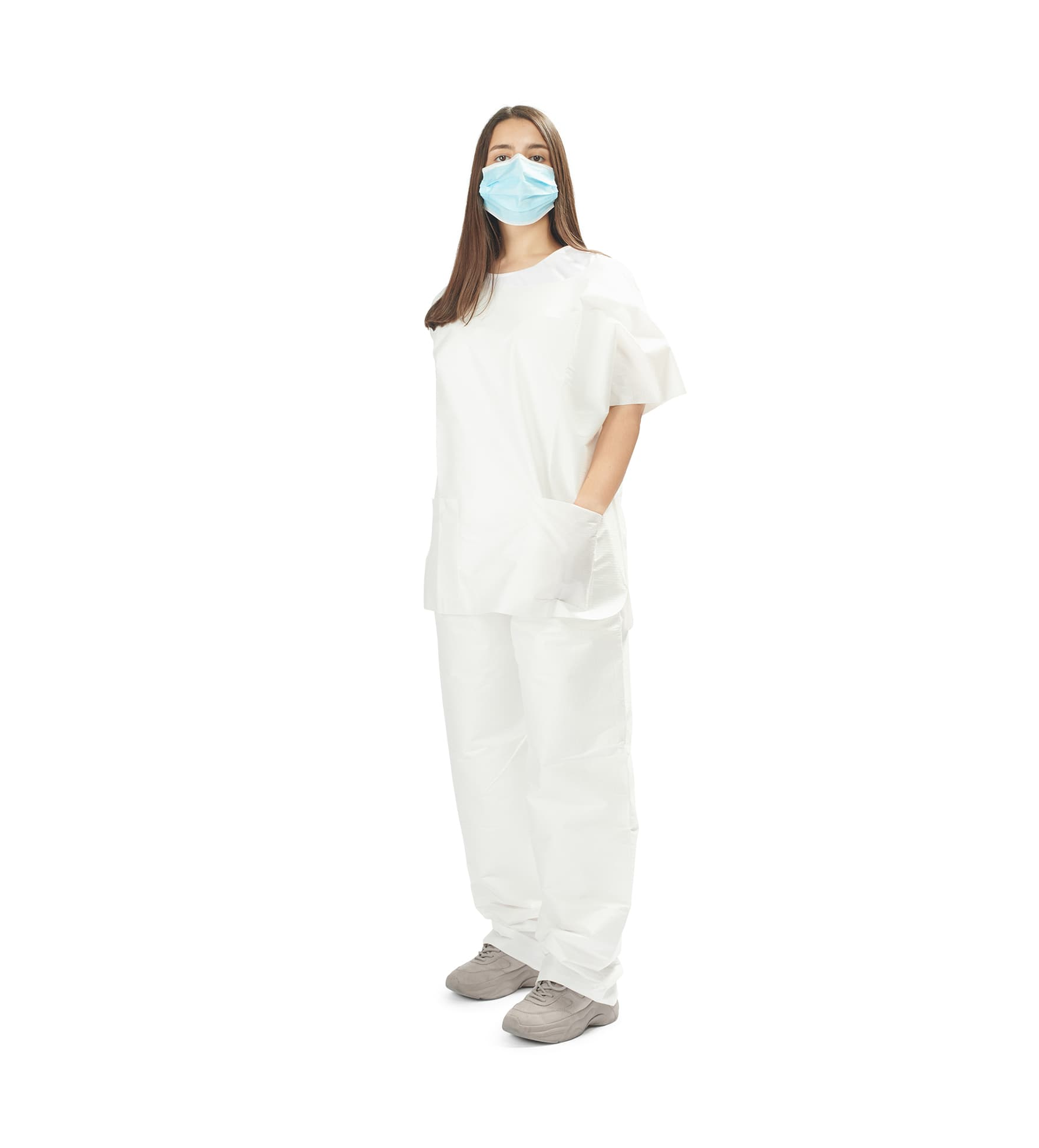 fardas de bloco hidrófugas 1 - water repellent scrubs - clothe protect