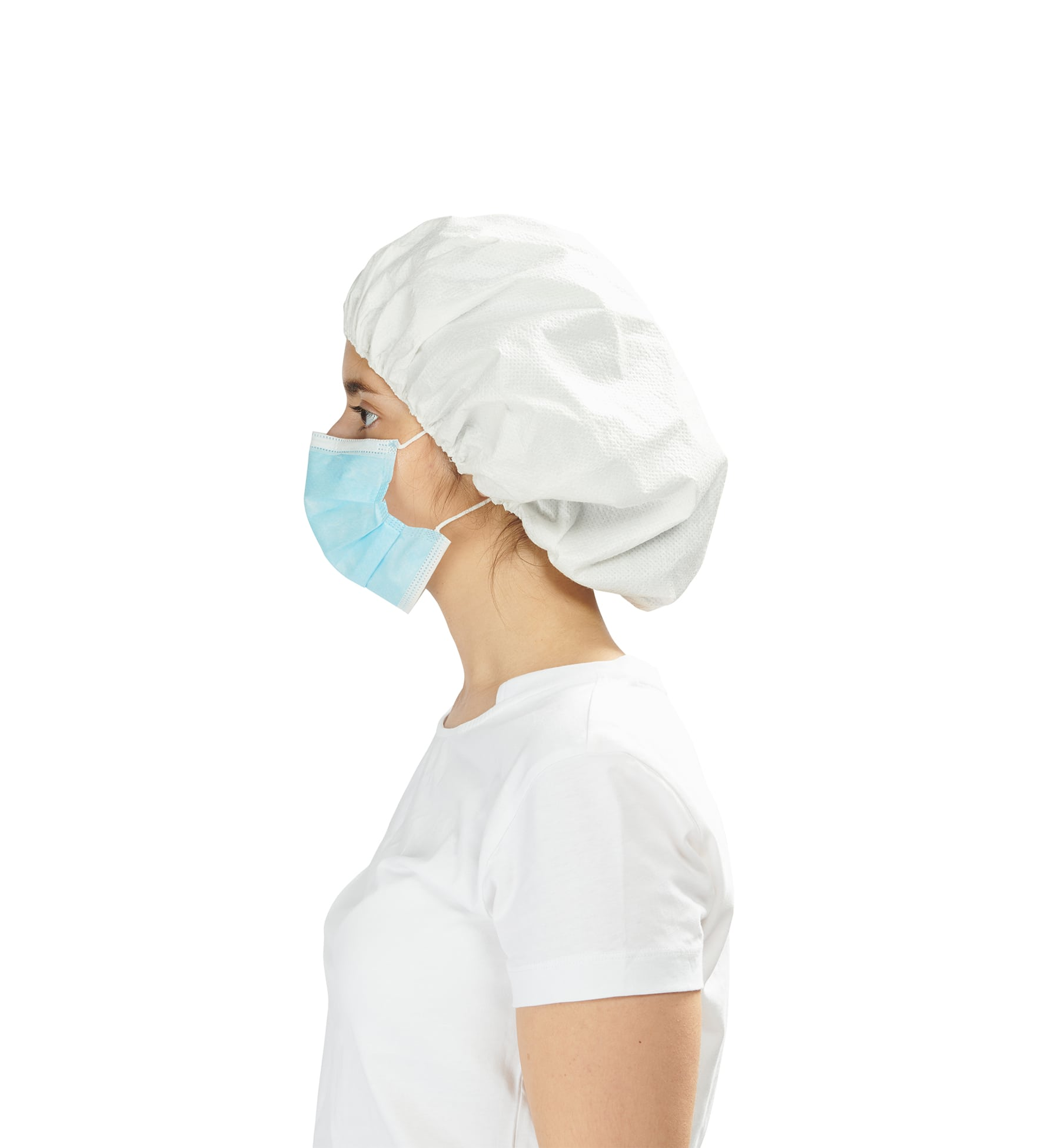 toucas impermeáveis 2 - waterproof caps - clothe protect