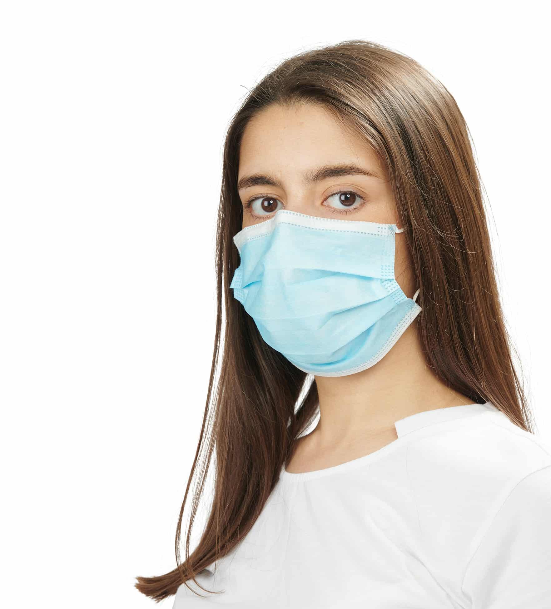 máscaras cirúrgicas 2 - surgical masks - clothe protect